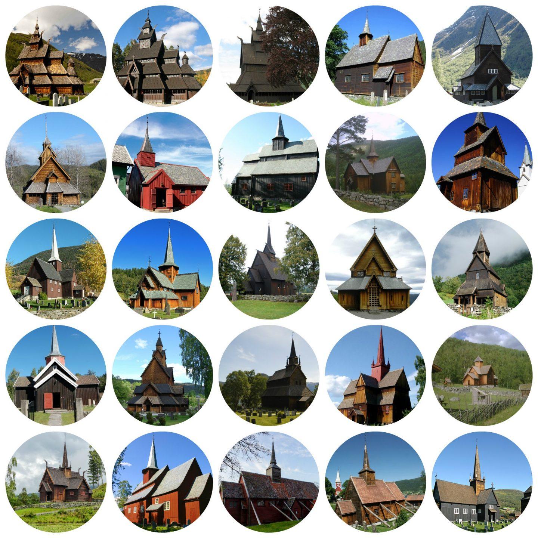 Staafkerken in Noorwegen   Reizen