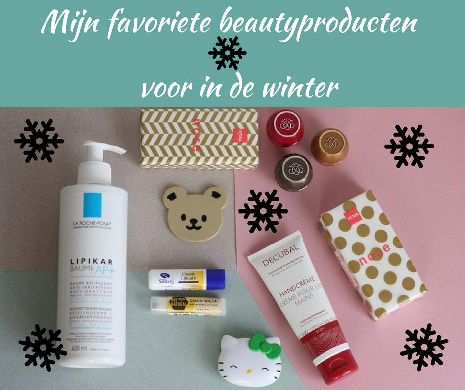 [:nl]Mijn favoriete beautyproducten voor in de winter[:]