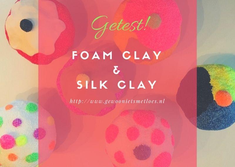 [:nl]Wat je kunt maken met Foam Clay en Silk Clay | Knutselen[:]