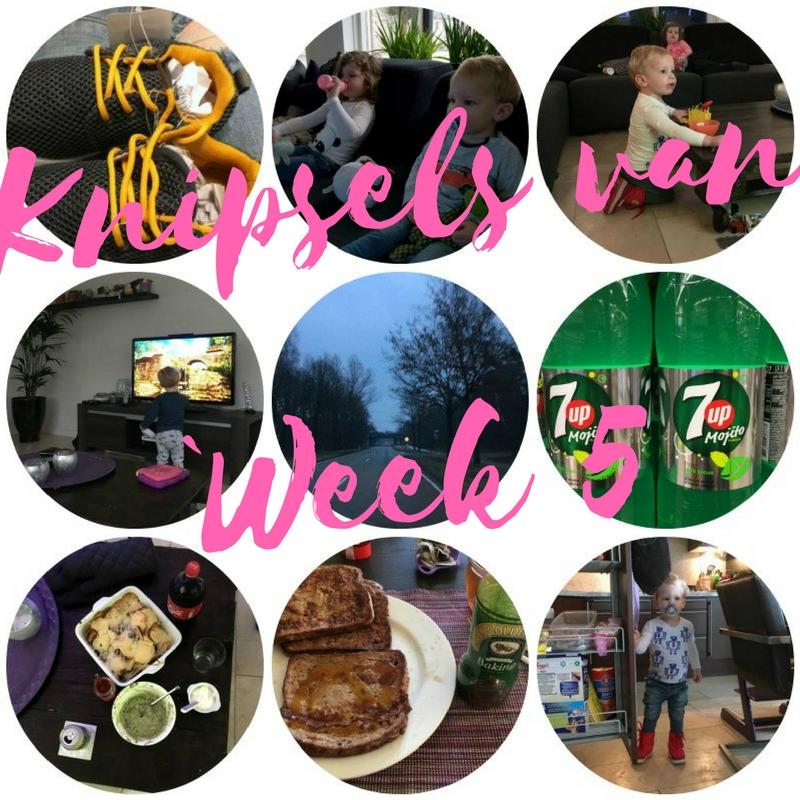 Knipsels van week 5: weinig foto's gemaakt, migraine en eten bij ikea