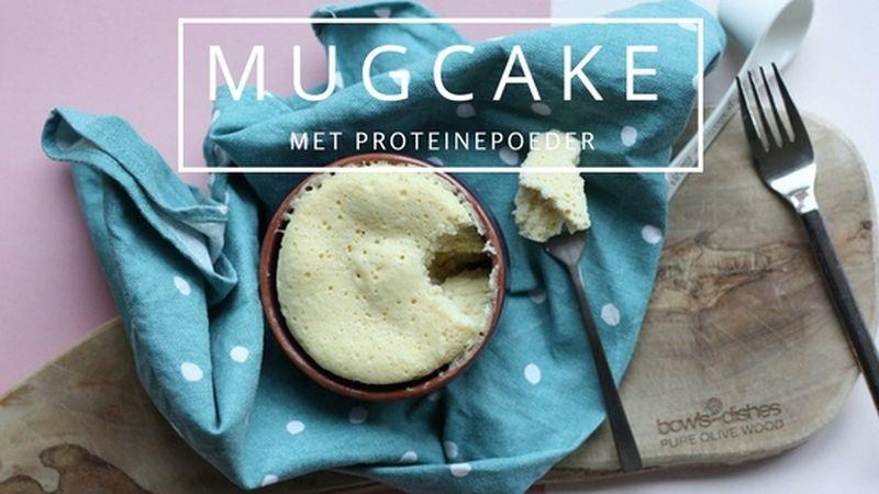 Mugcake met proteine | Recept
