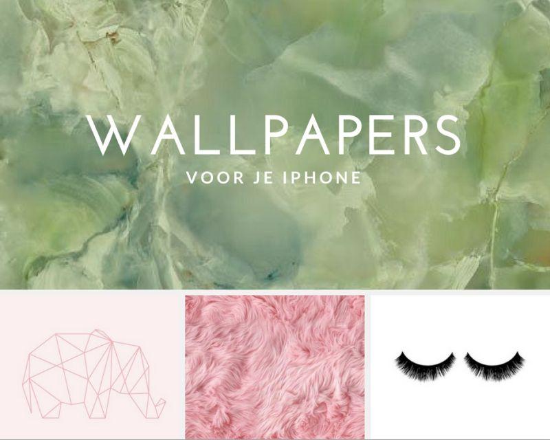 De leukste wallpapers voor je iPhone