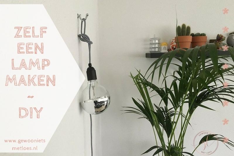 Zelf een lamp maken | HOME DIY