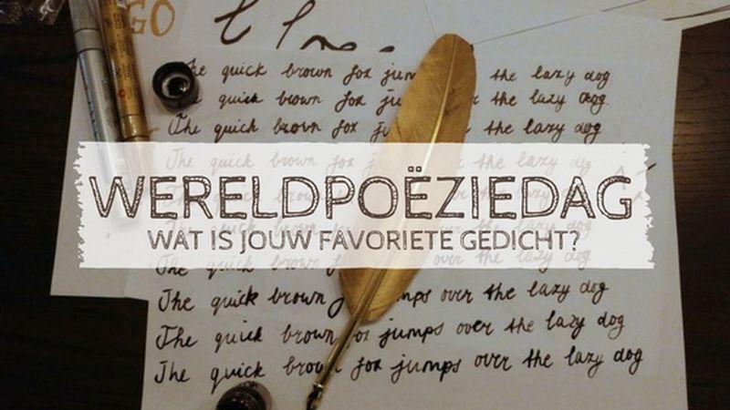 [:nl]Wereldpoëziedag | Poëzie in de spotlight[:]