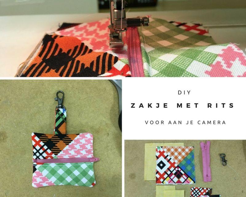 [:nl]Handig: zakje met rits voor aan je camera   DIY[:en]Handig zakje voor aan je camera   DIY[:]