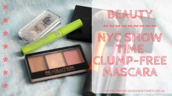 [:nl]NYC Show Time clump-free mascara | Beauty[:]