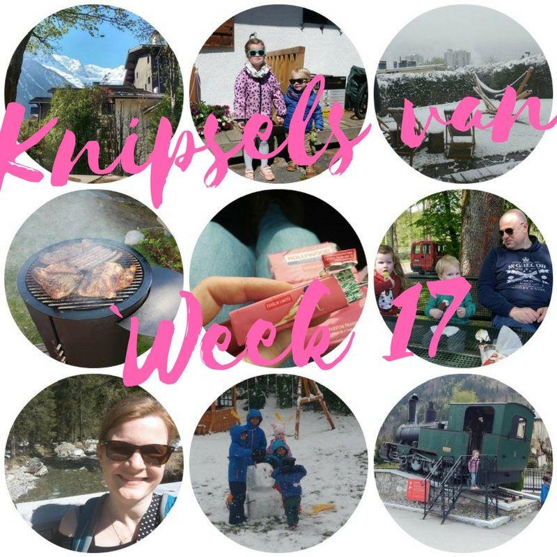 [:nl]Knipsels van week 17: Logeren in Chamonix, regen, sneeuw en bbq in de korte broek[:en]Snap snots of week 17: staying in Chamonix, rain, snow and a BBQ in shorts[:]