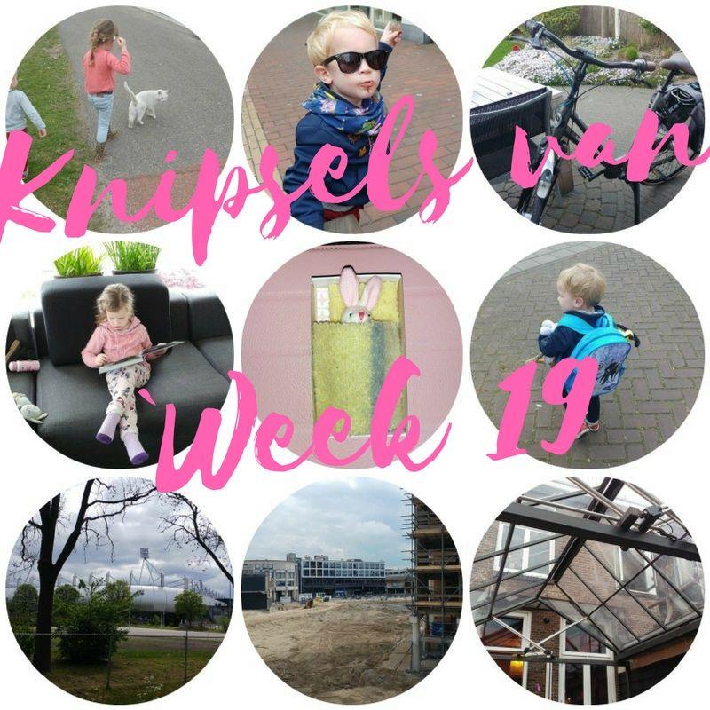 [:nl]Knipsels van week 19: een nieuwe fiets, een 'college' gelukskunde en moederdag[:]