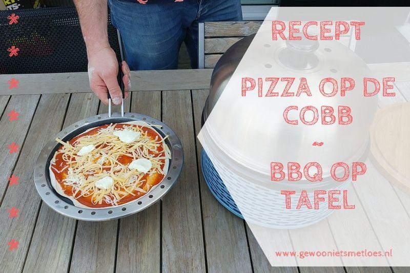 Pizza op de Cobb | BBQ op tafel!