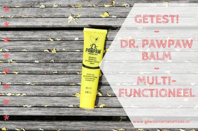 [:nl]Dr. Pawpaw Original Balm | Multifunctionele crème [:en]Paw Paw Balm[:]