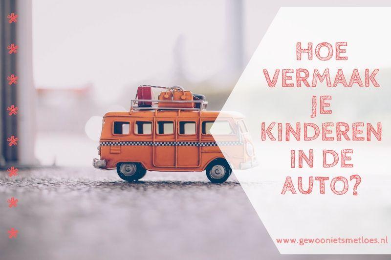 Hoe vermaak je kinderen in de auto? | Reizen