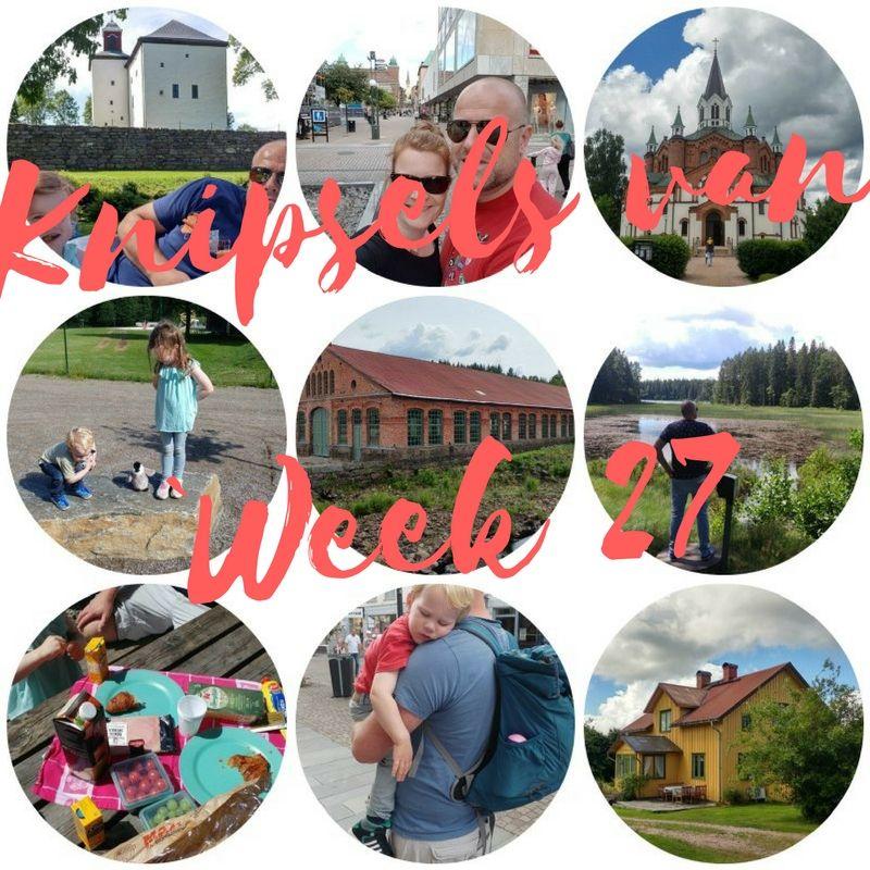 [:nl]Knipsels van week 27: verhuizen naar het gele huis, de koning van het woud en pyttipanna[:en]Knipsels van week 27:[:]