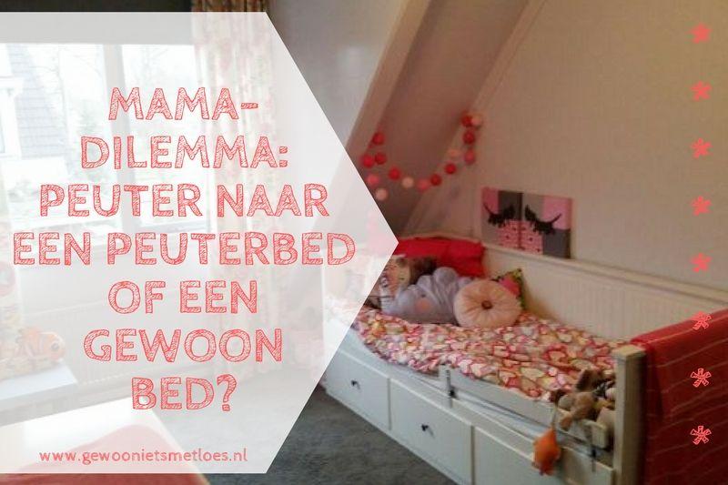 Mama-dilemma: Peuter naar een peuterbed of een groot bed?