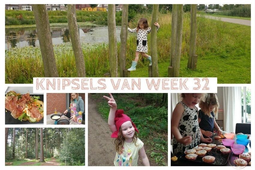 [:nl]Knipsels van week 32: geocachen, buiten pannenkoeken bakken en het kabouterpad[:]