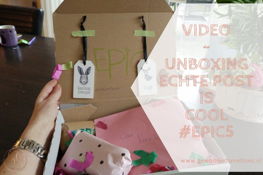 [:nl]Unboxing: Echte Post is Cool #5 | Video[:]