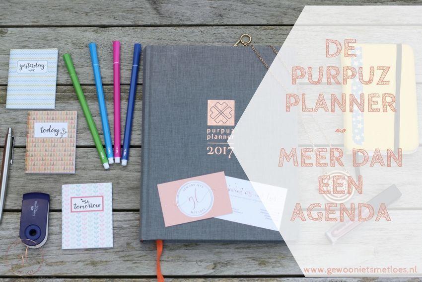 De Purpuz Planner | Meer dan een agenda