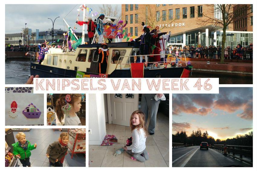 Knipsels van week 46: naailes, Sinterklaas en een nichtje