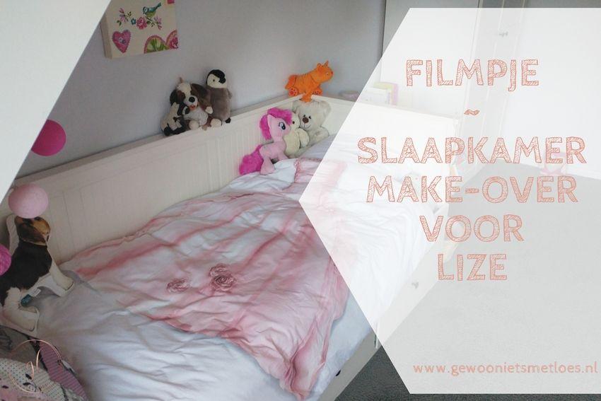 Slaapkamer make-over voor Lize