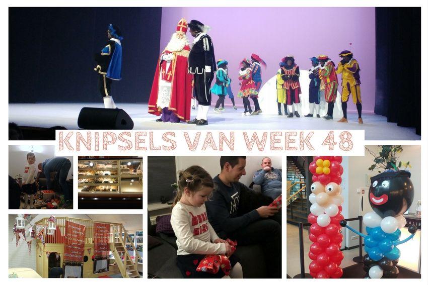 Knipsels van week 48: Sinterklaas in het theater en 2 keer pakjesavond