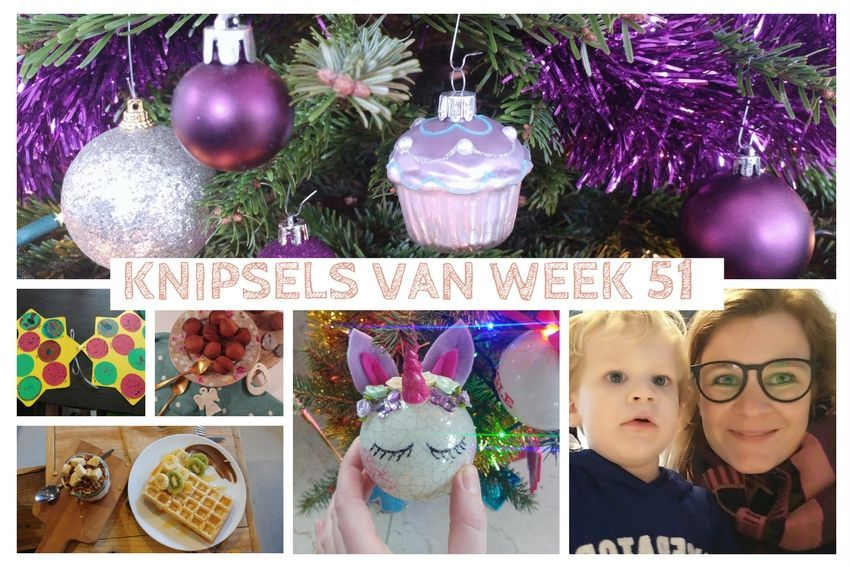 Knipsels van week 51: kerstborrel, lunch met Lize en kerstavond