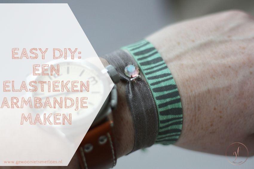 [:nl]Easy DIY: een elastieken armbandje maken[:]