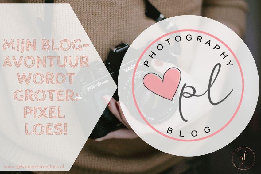 Mijn blogavontuur wordt groter: Pixel Loes