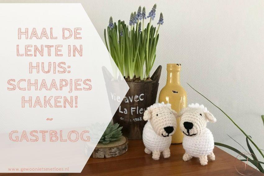 Haal de lente in huis: schaapjes haken!