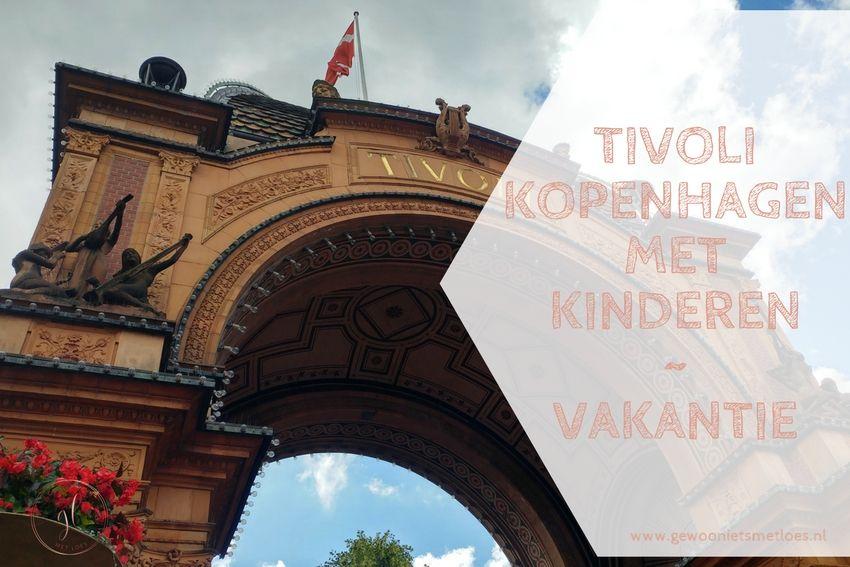 Tivoli Kopenhagen met kinderen