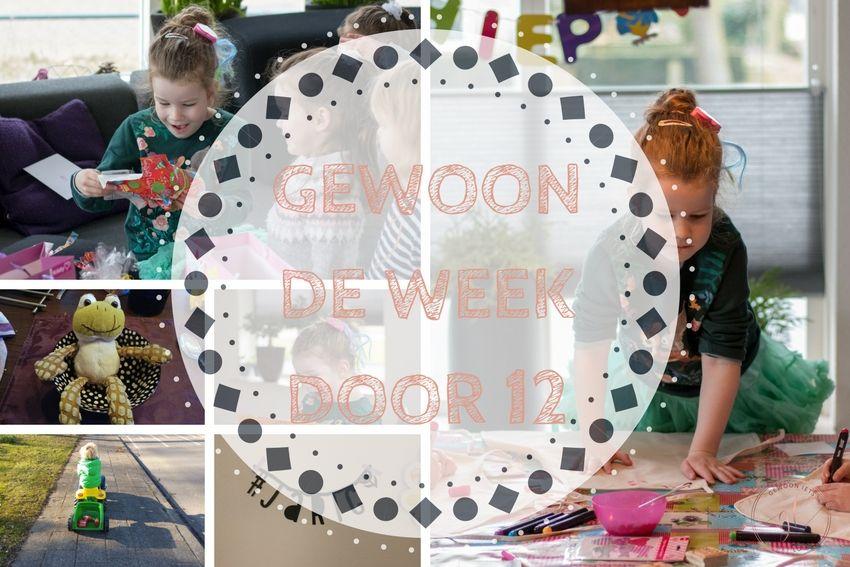 Gewoon de week door 12: Lize's kinderfeestje en een ziekenboeg