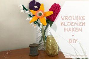 Vrolijke bloemen haken