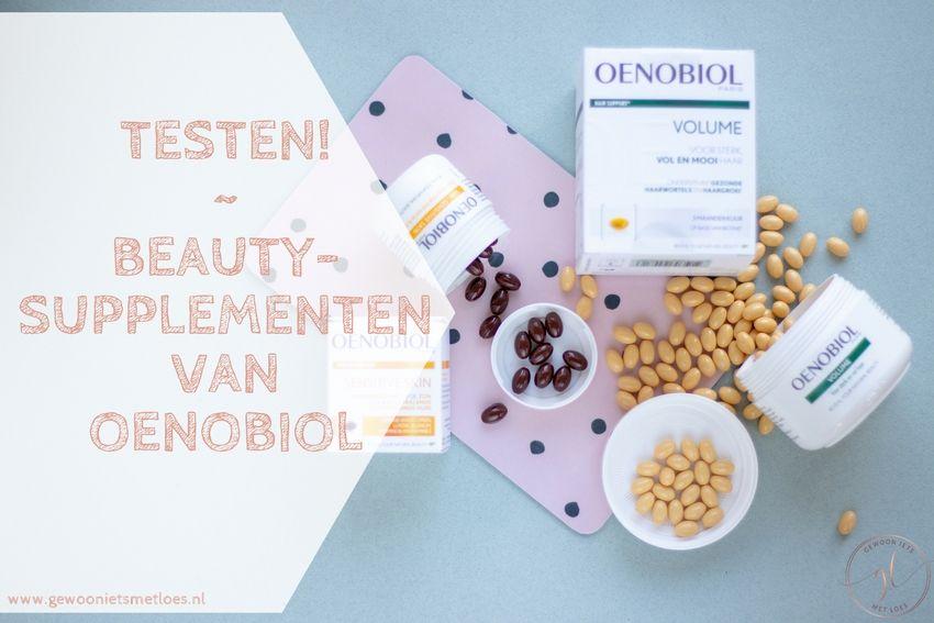 Beautysupplementen van Oenobiol | Ik ga ze testen!