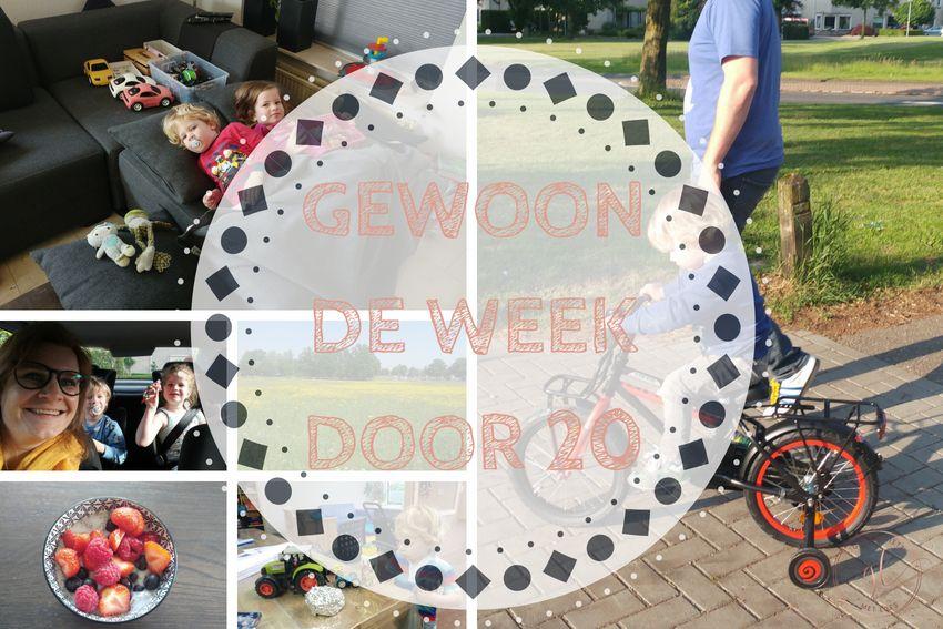 Gewoon de week door 20: lekker weer en Pepijn leert fietsen