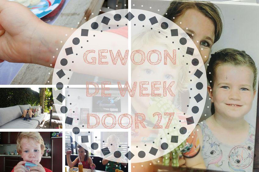 Gewoon de week door 27: nieuw paspoort voor Lize en waterpokken voor Pepijn