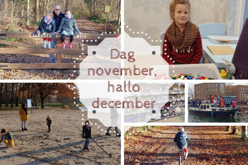 Dag november, hallo december | Maandoverzicht