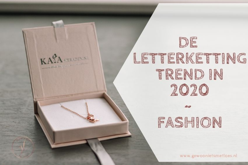 De letterketting | Trend in 2020