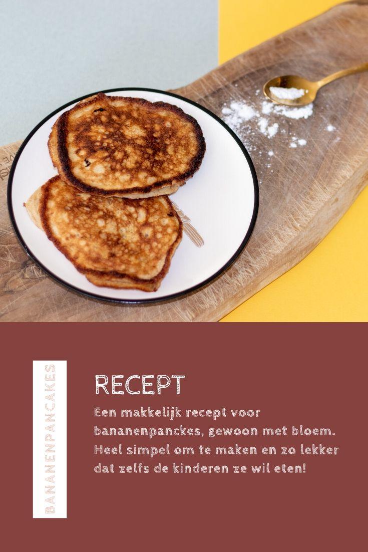 Bananenpancakes recept Pinterest