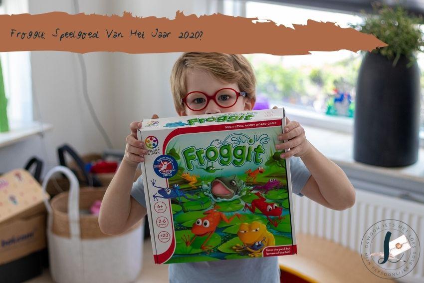 Froggit: genomineerd voor Speelgoed van het Jaar 2020