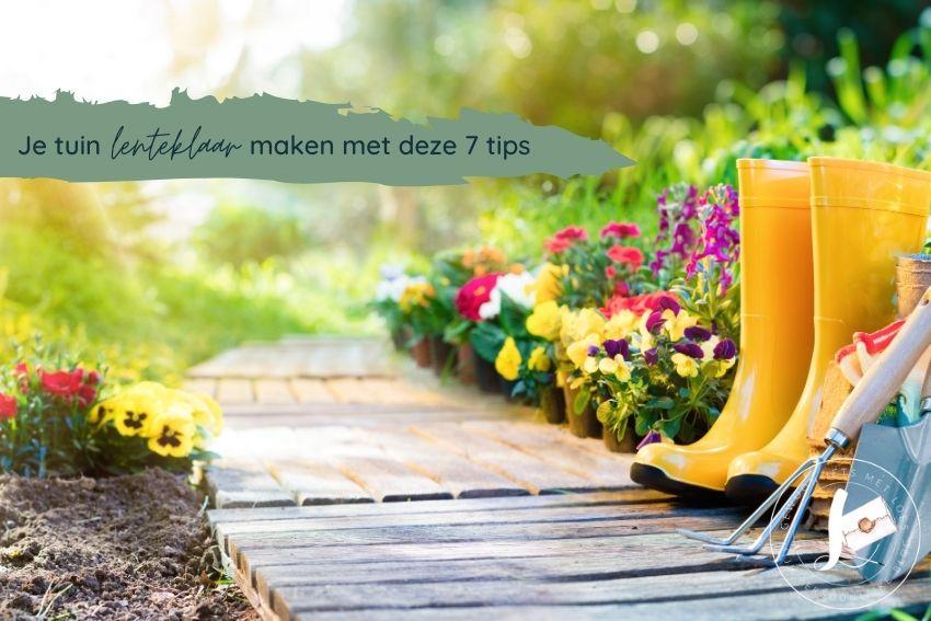 Je tuin lenteklaar maken: met deze 7 tips is het zo gebeurd!